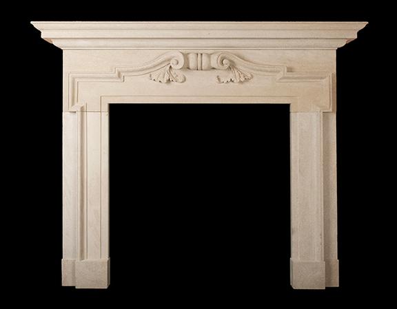 Henrietta – Stone Fireplace