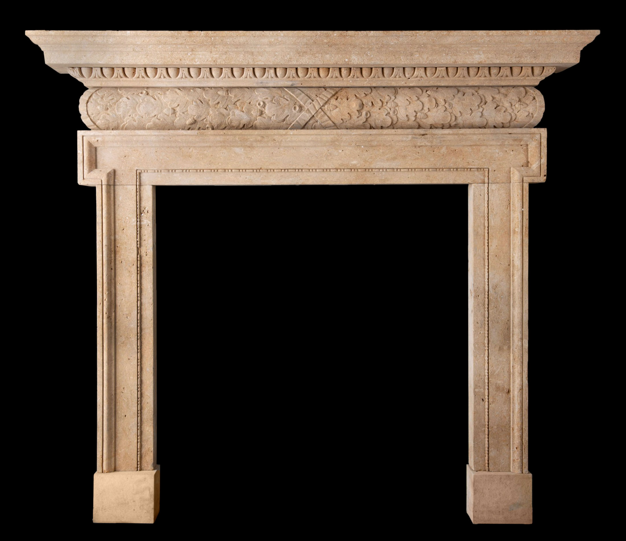 Bruce – Carved Stone Fire Surround