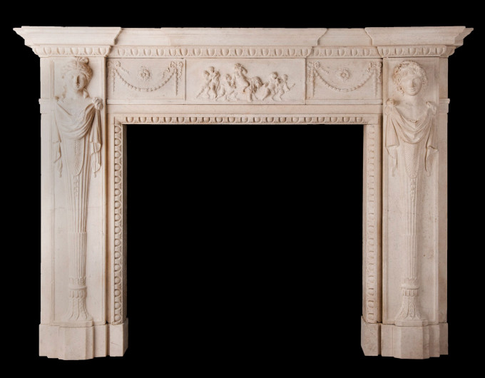 bath stone chimneypiece