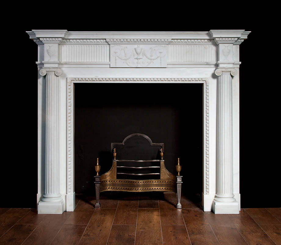 Hillsborough – Georgian style Fireplace