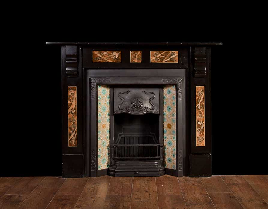 Slate Fireplace – SL003