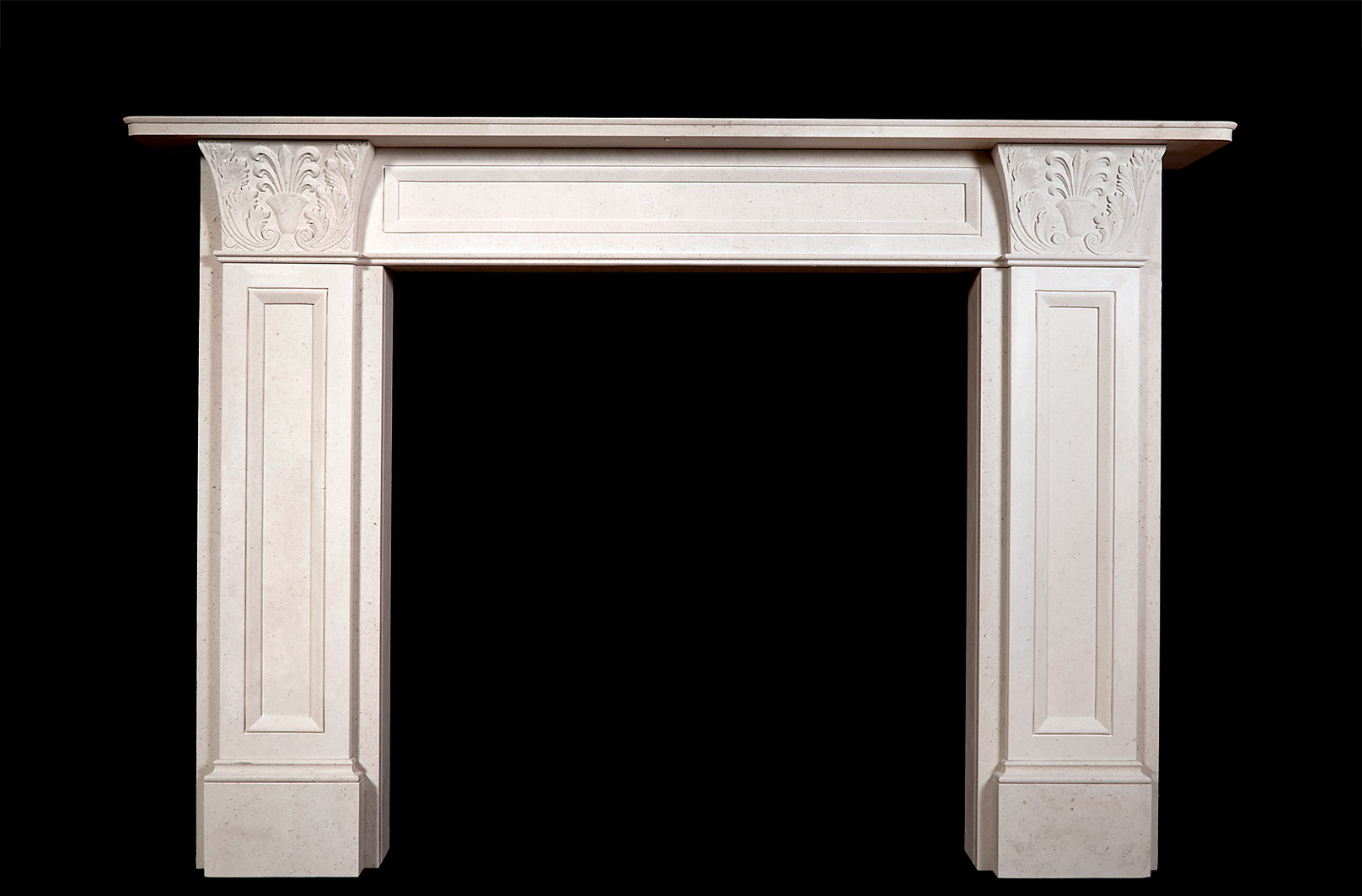 Acanthus (Stone) Fireplace