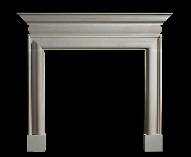 Cornice Bolection – Stone Fireplace