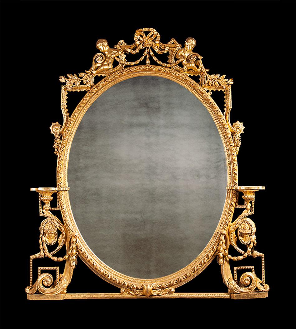 Fireplace Over mantle Mirror – AF002