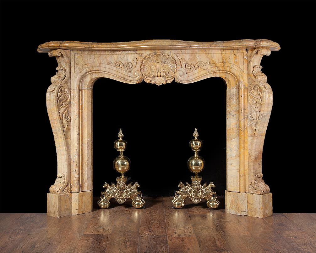 Rococo Fireplace – 19153