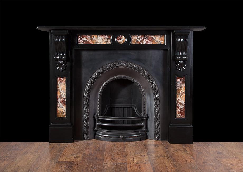 Victorian Slate Fireplace – SL018