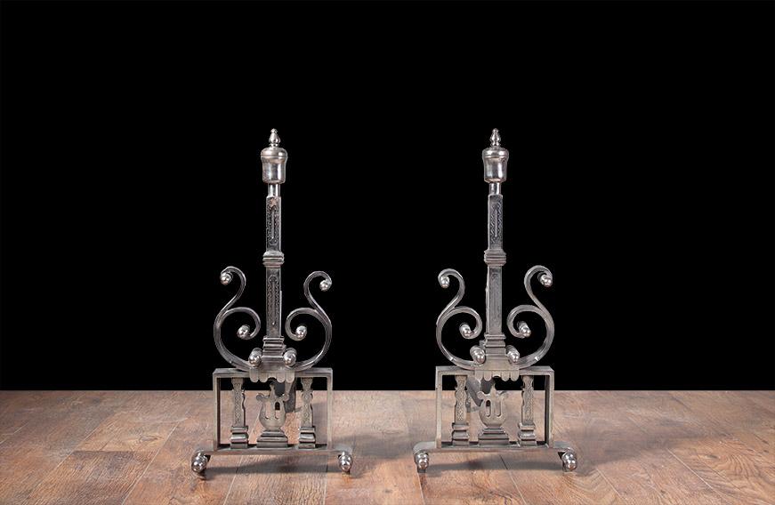Fireplace Andirons – AI016