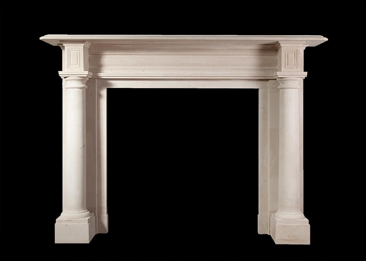 Edenmore – Portland Stone Fireplace
