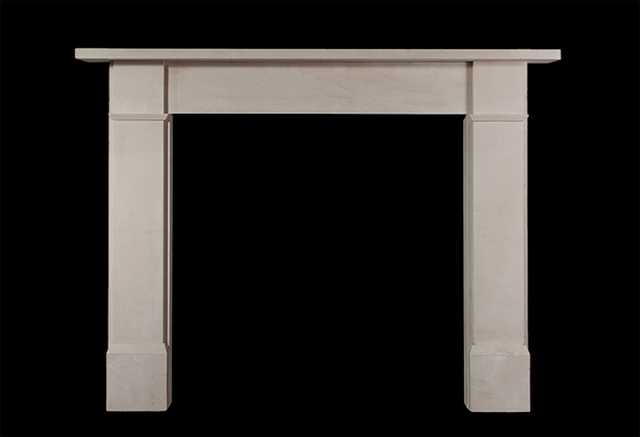 Ripley – Reproduction Portland Stone Fireplace