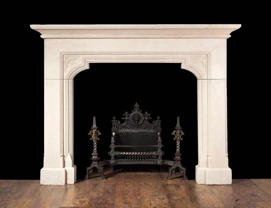 Antique Stone Fireplace – ST010