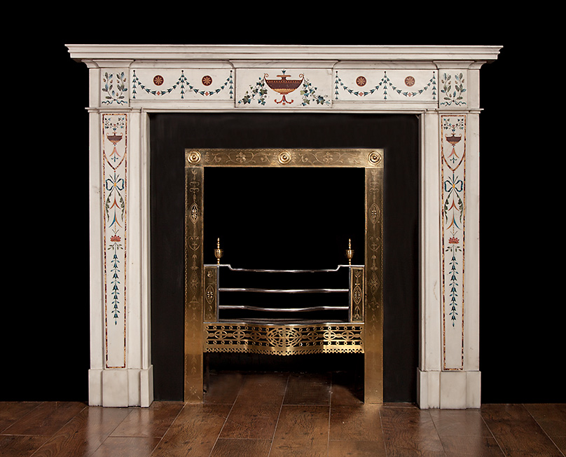 Bossi – Inlaid Fireplace