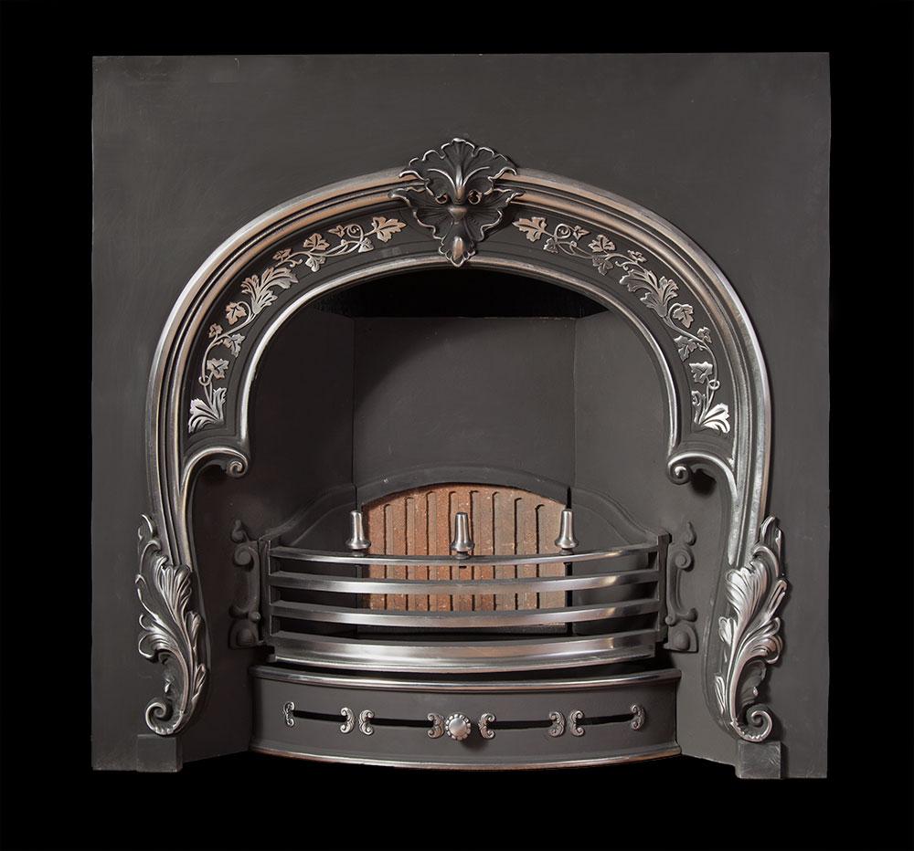 Stuart – Victorian Arched Cast Iron Insert