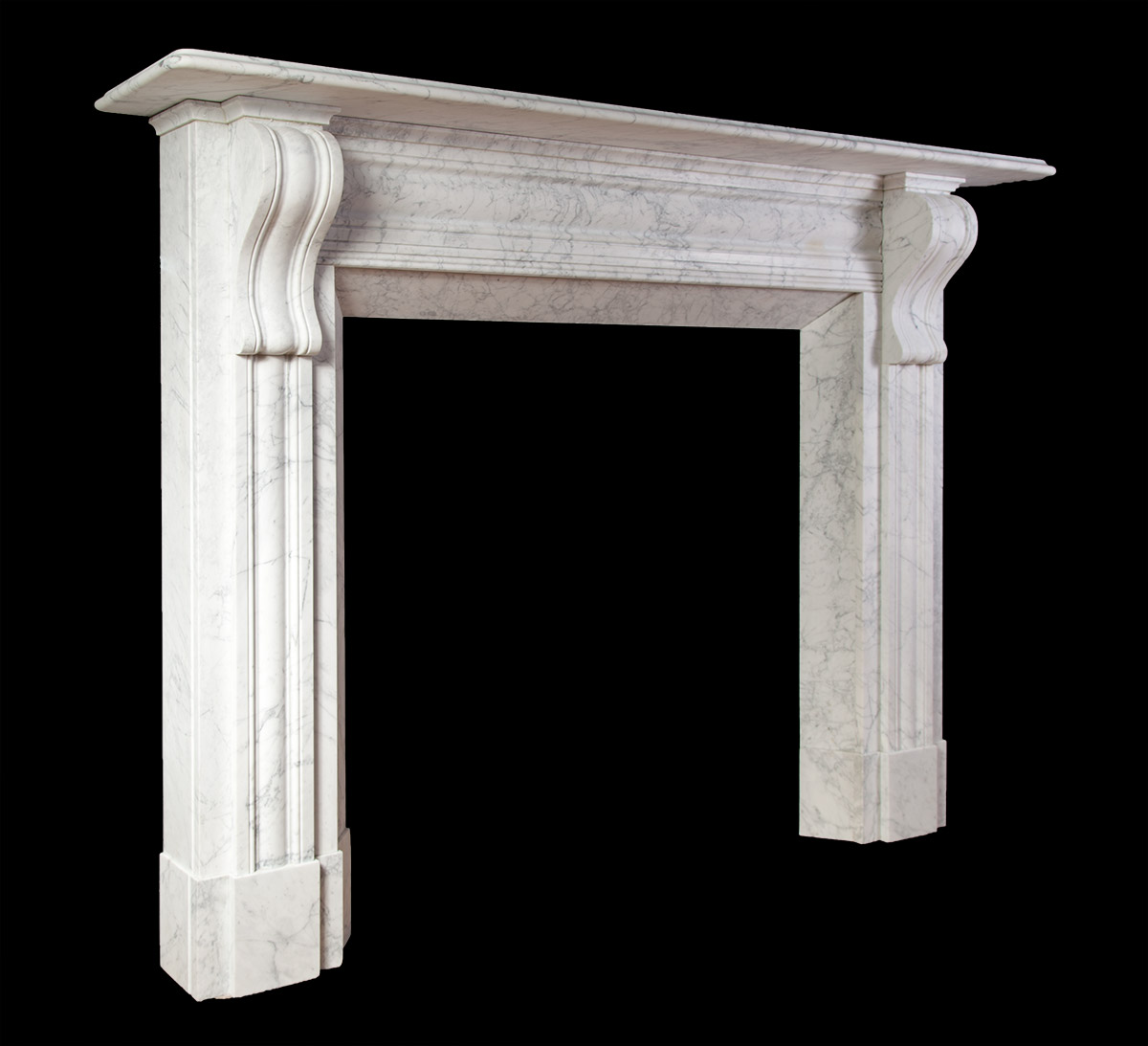 irish corbel carrara new fireplaces new marble fireplace