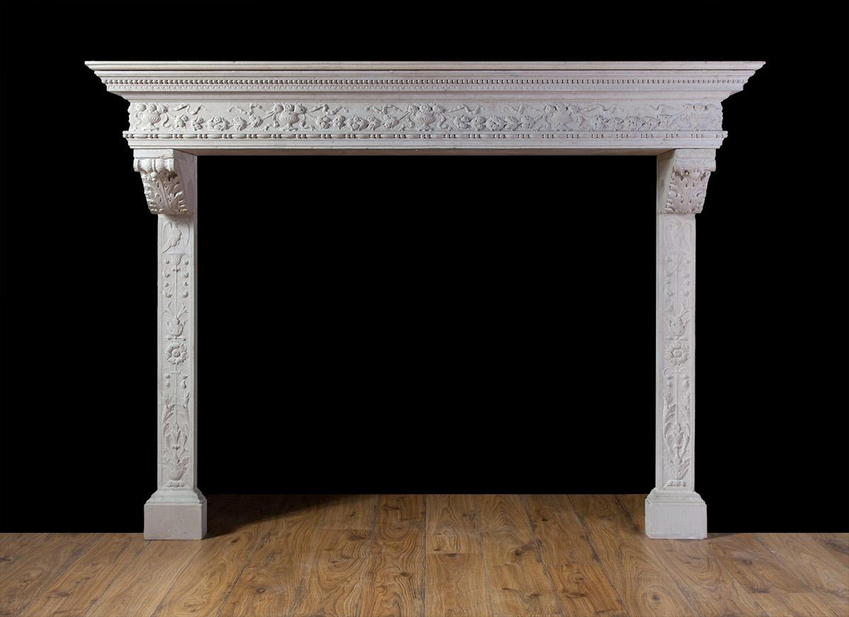 Renaissance Mantelpiece – ST016