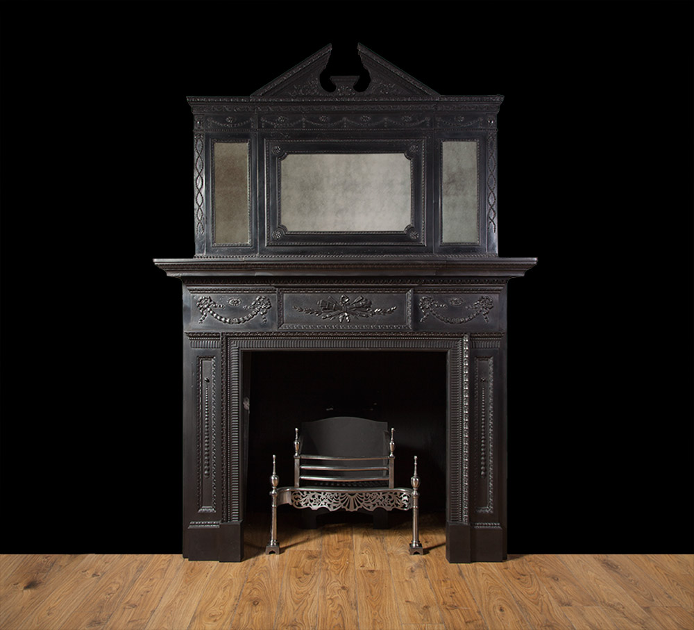 Antique Cast Iron Fireplace – Ci151