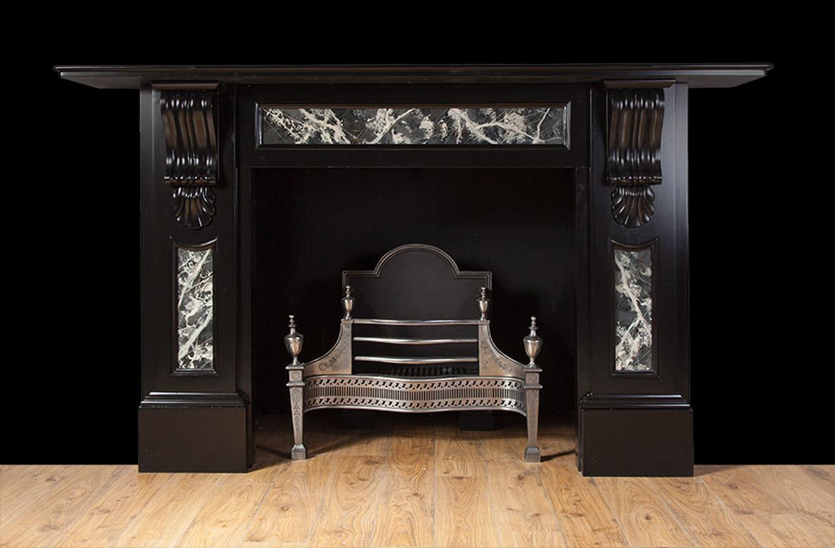 Victorian Slate Fireplace – SL024