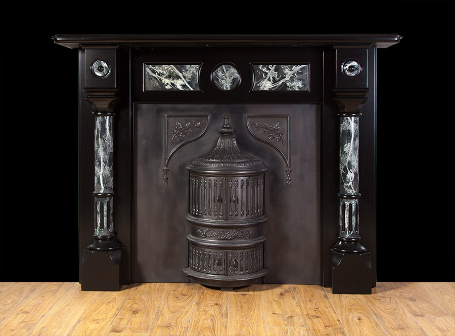Edwardian Slate fireplace – SL029