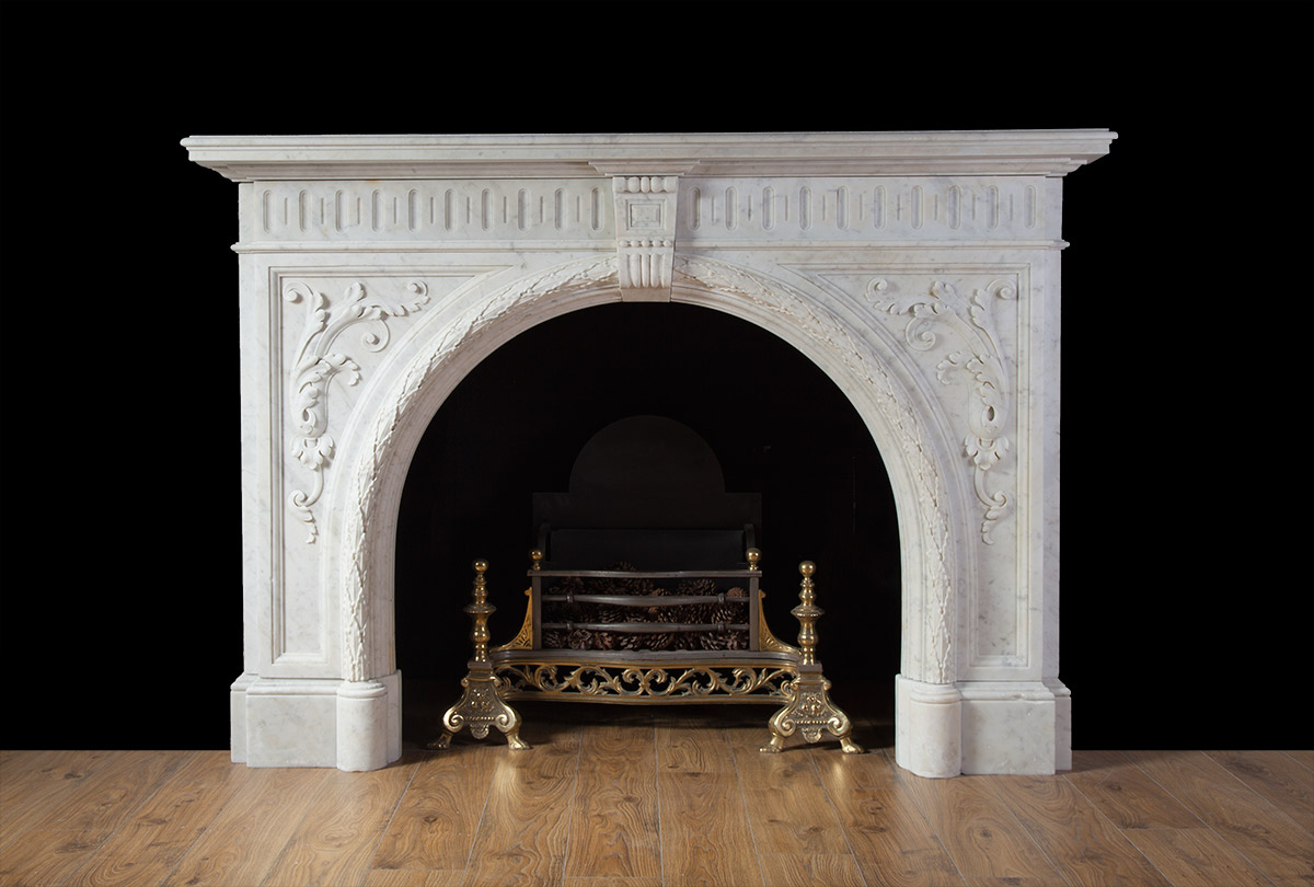 Victorian Marble Fireplace 19220 Antique Marble