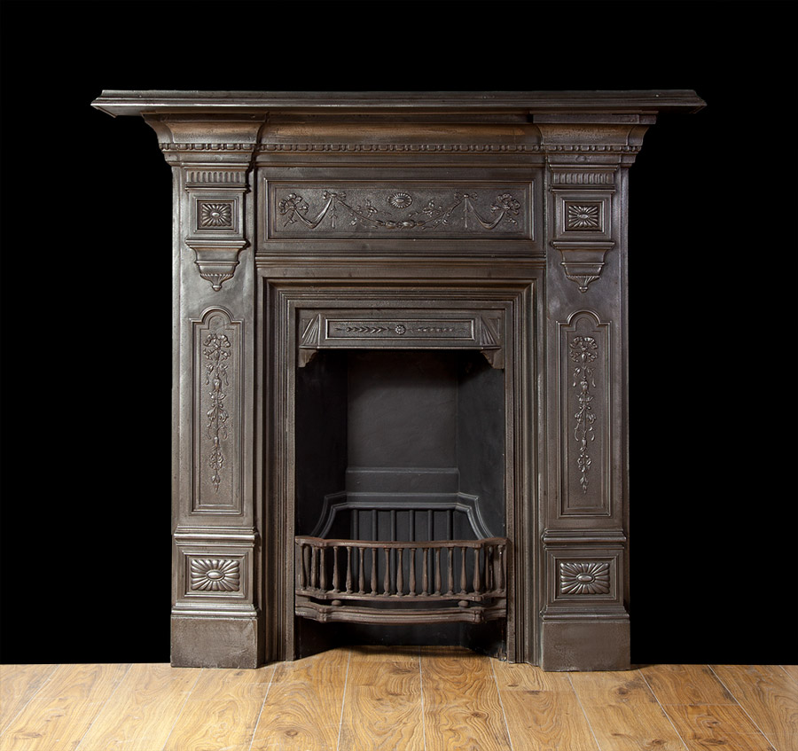 Cast Iron Fireplace – Ci157