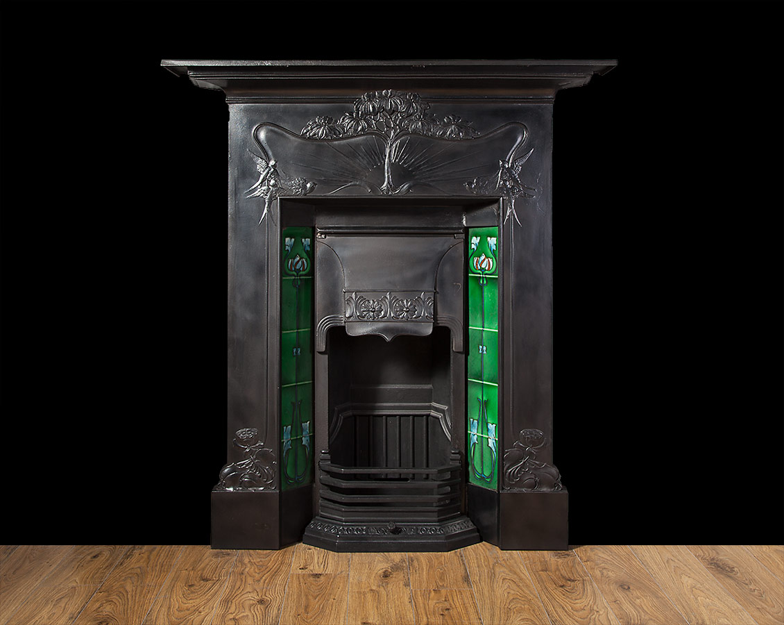 Cast Iron Fireplace – Ci168