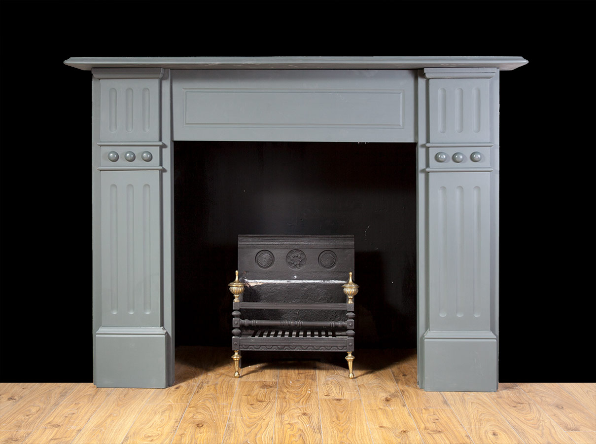 Antique Painted Slate Fireplace – SL032
