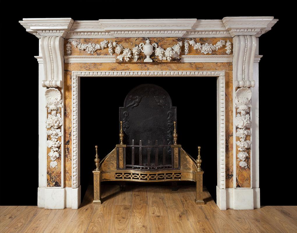 Georgian Sienna Fireplace – 18149