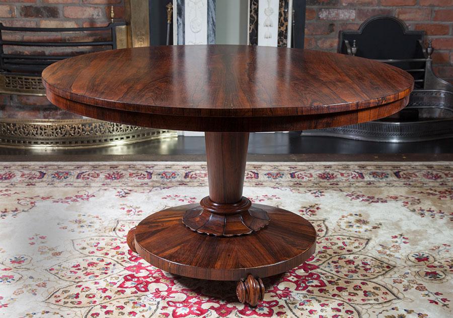 Circular Rosewood Table – AF033
