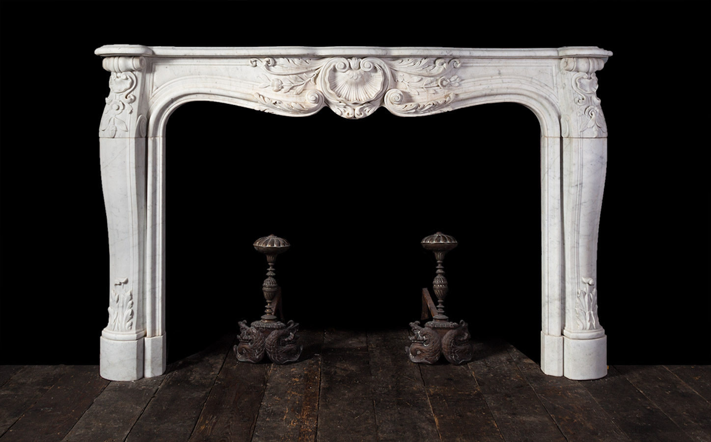 French Marble Fireplace 18152 18th Century 18th