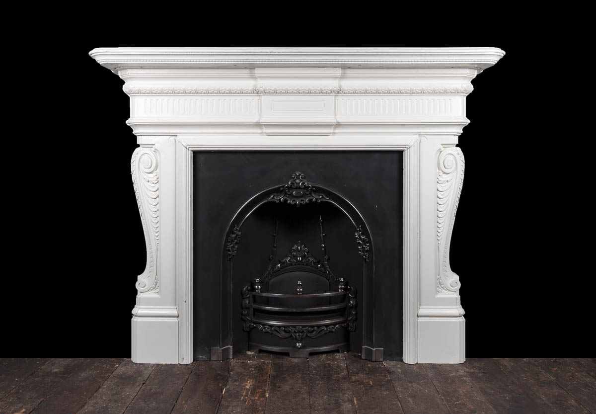 Cast Iron fireplace – Ci173