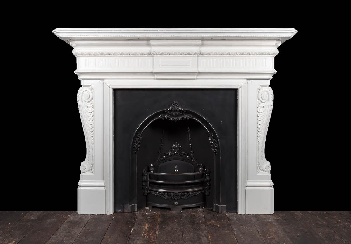 Cast Iron fireplace – Ci173