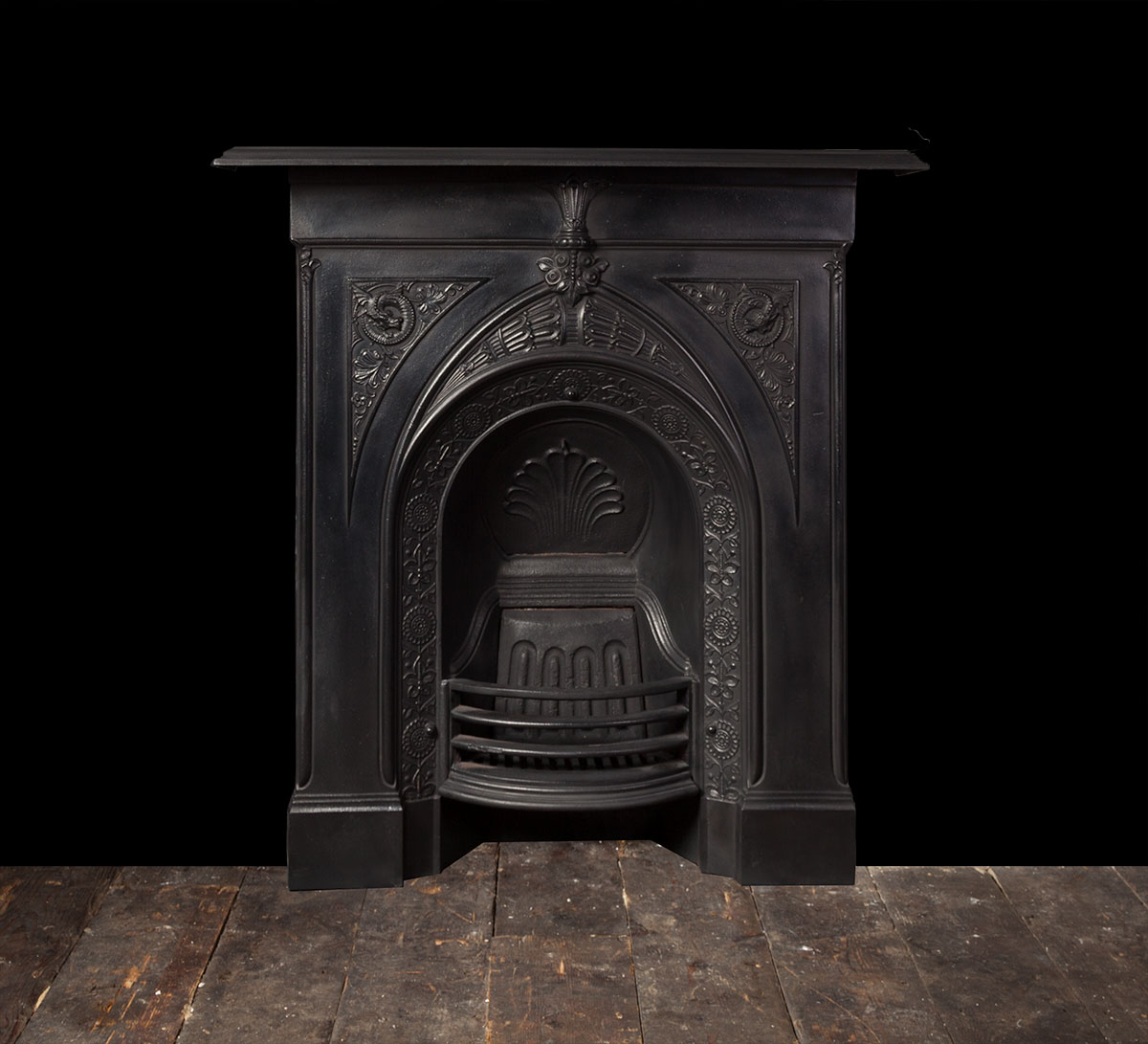Antique Cast Iron Fireplace – Ci171