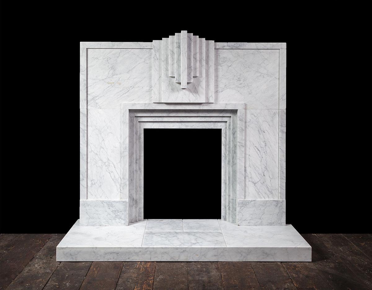 Mackintosh Art Nouveau Amp Art Deco Contemporary New Fireplaces New Marble Fireplace Mantels