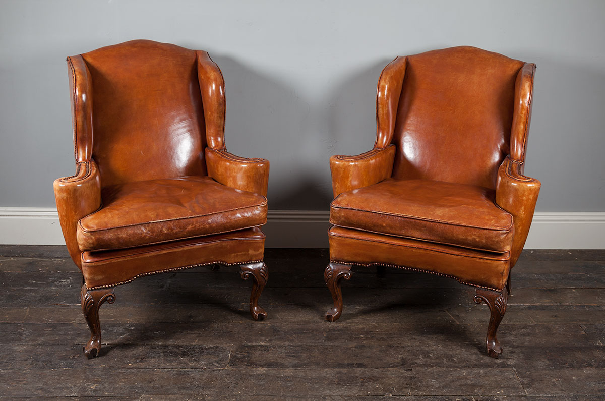 Leather Armchairs – AF043
