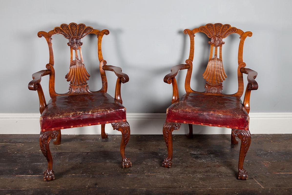 Pair George II Chairs – AF046