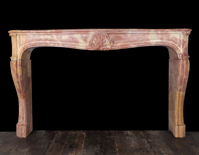 Belgian marble fireplace