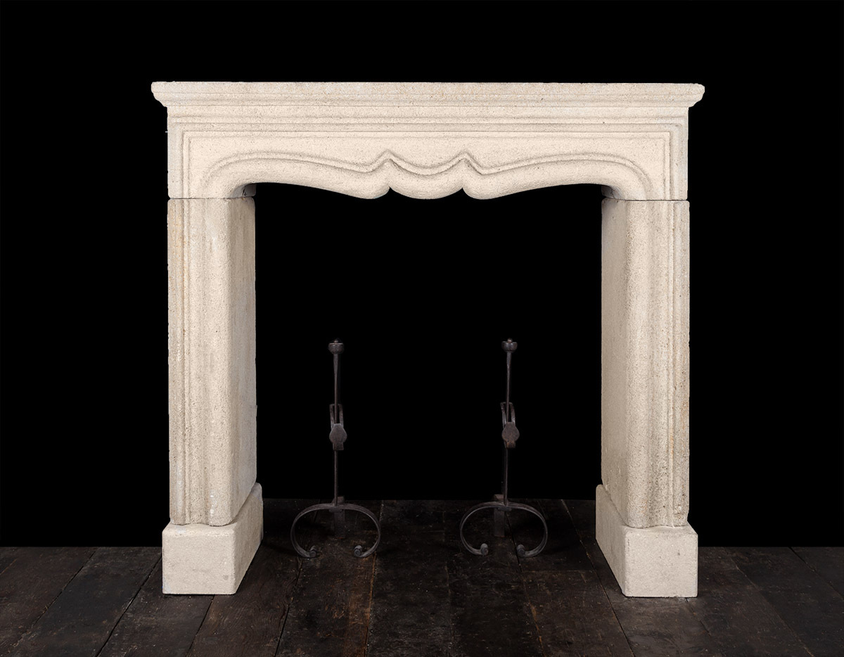 Stone fireplace –  ST022