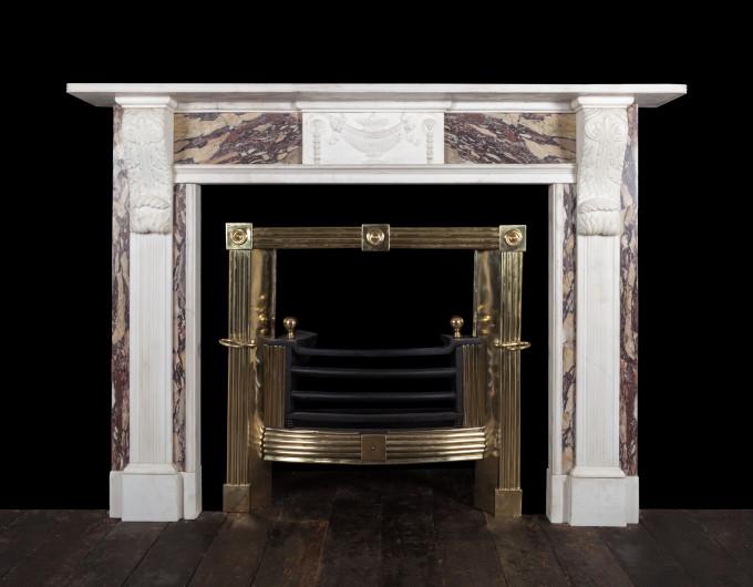 Regency Marble Fireplace