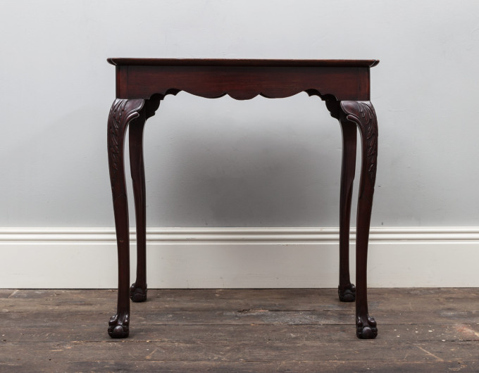 Georgian Silver Table
