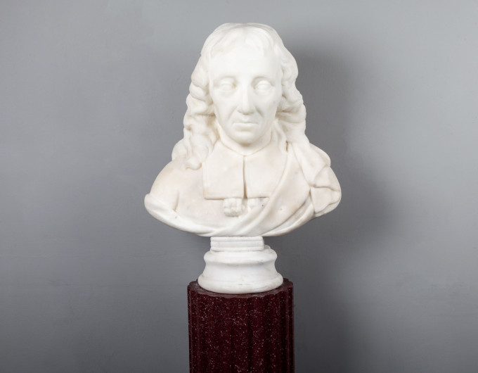 Milton Marble Bust