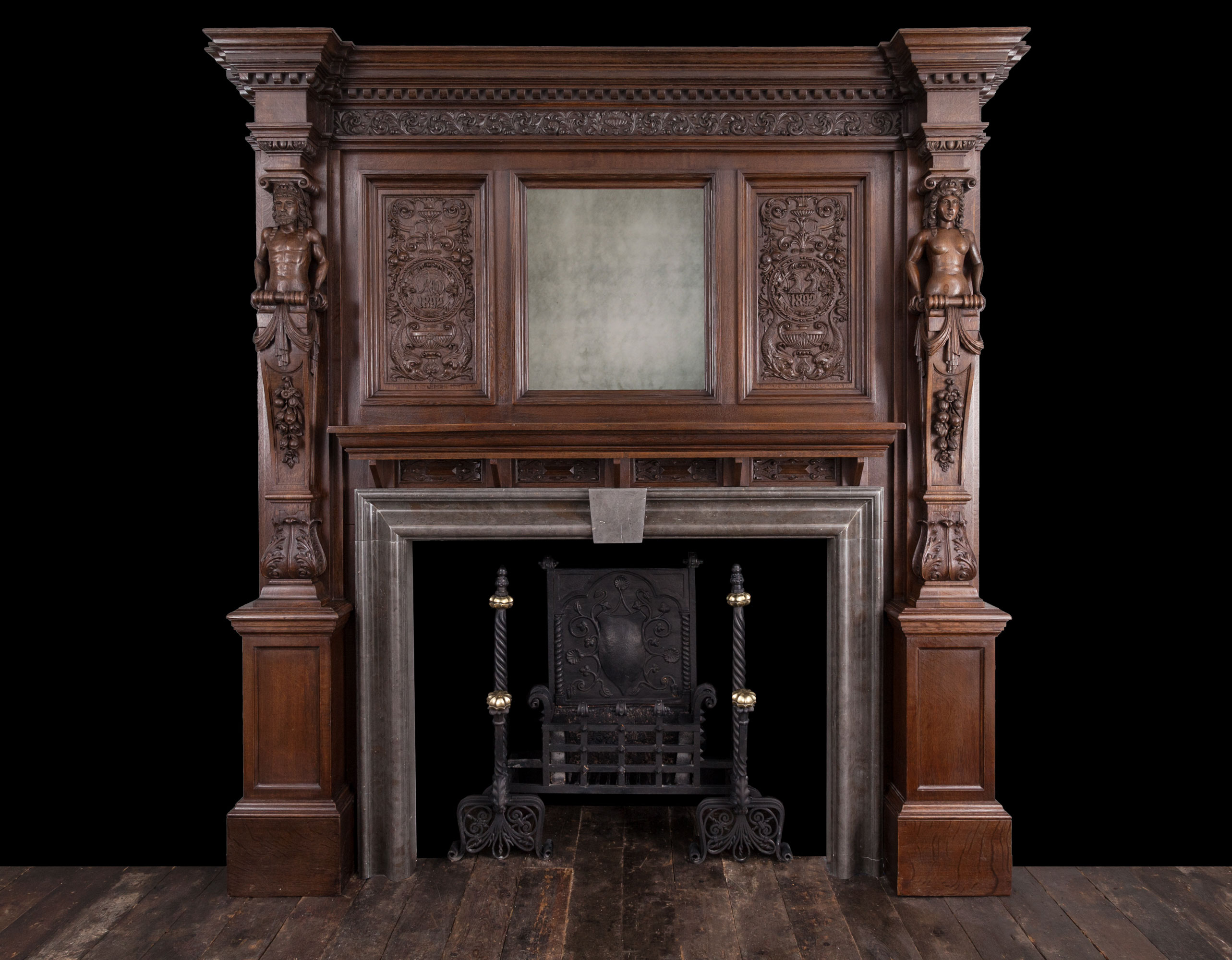 Wooden Mantel – W105