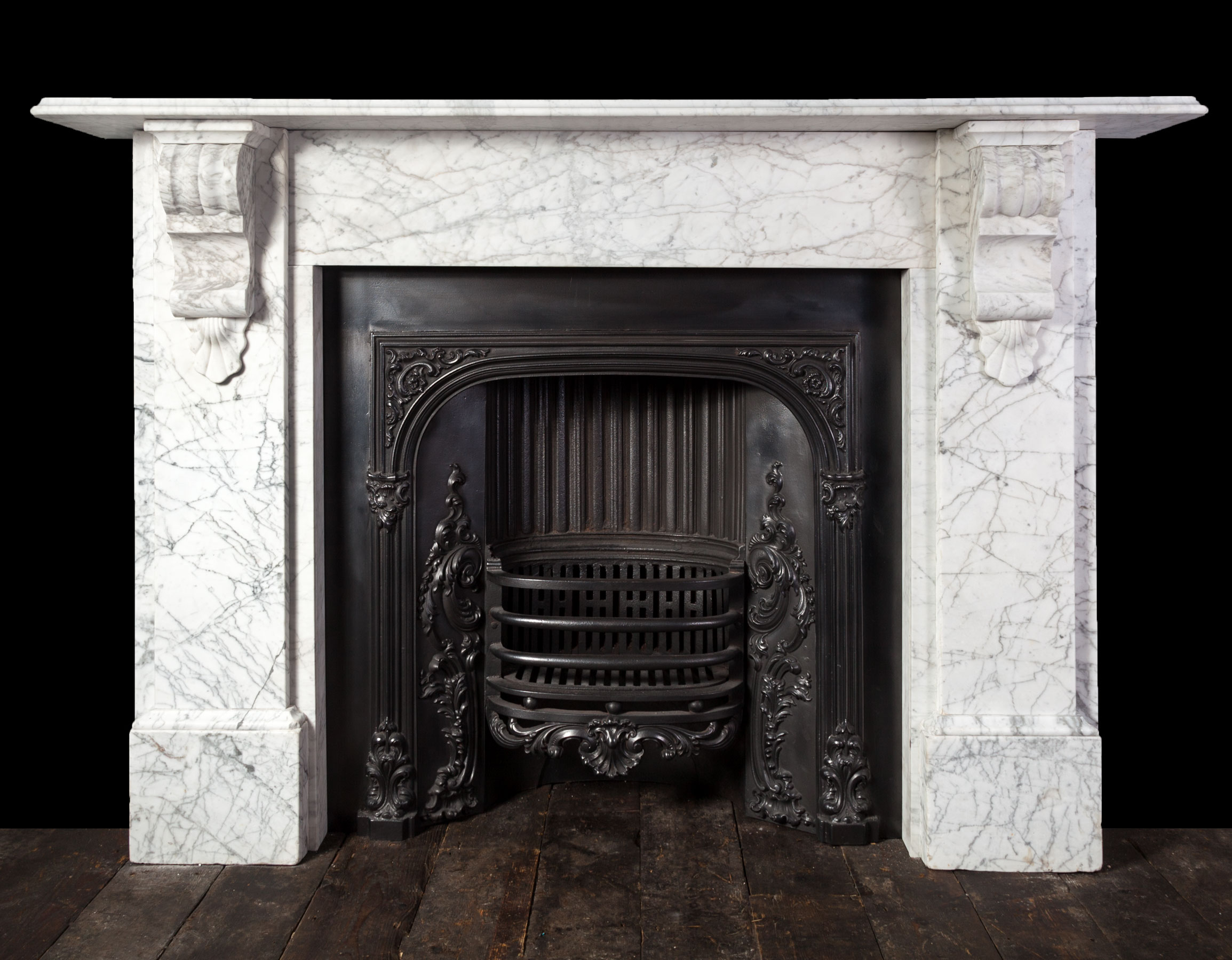 Carrara Fireplace – 19232