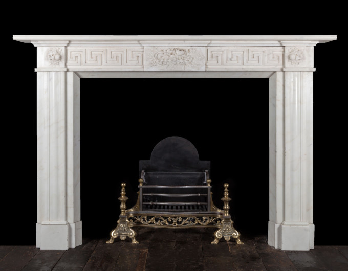 Irish Georgian Fireplace