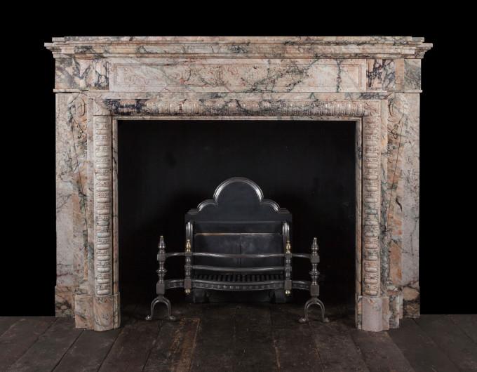 Breccia Fireplace