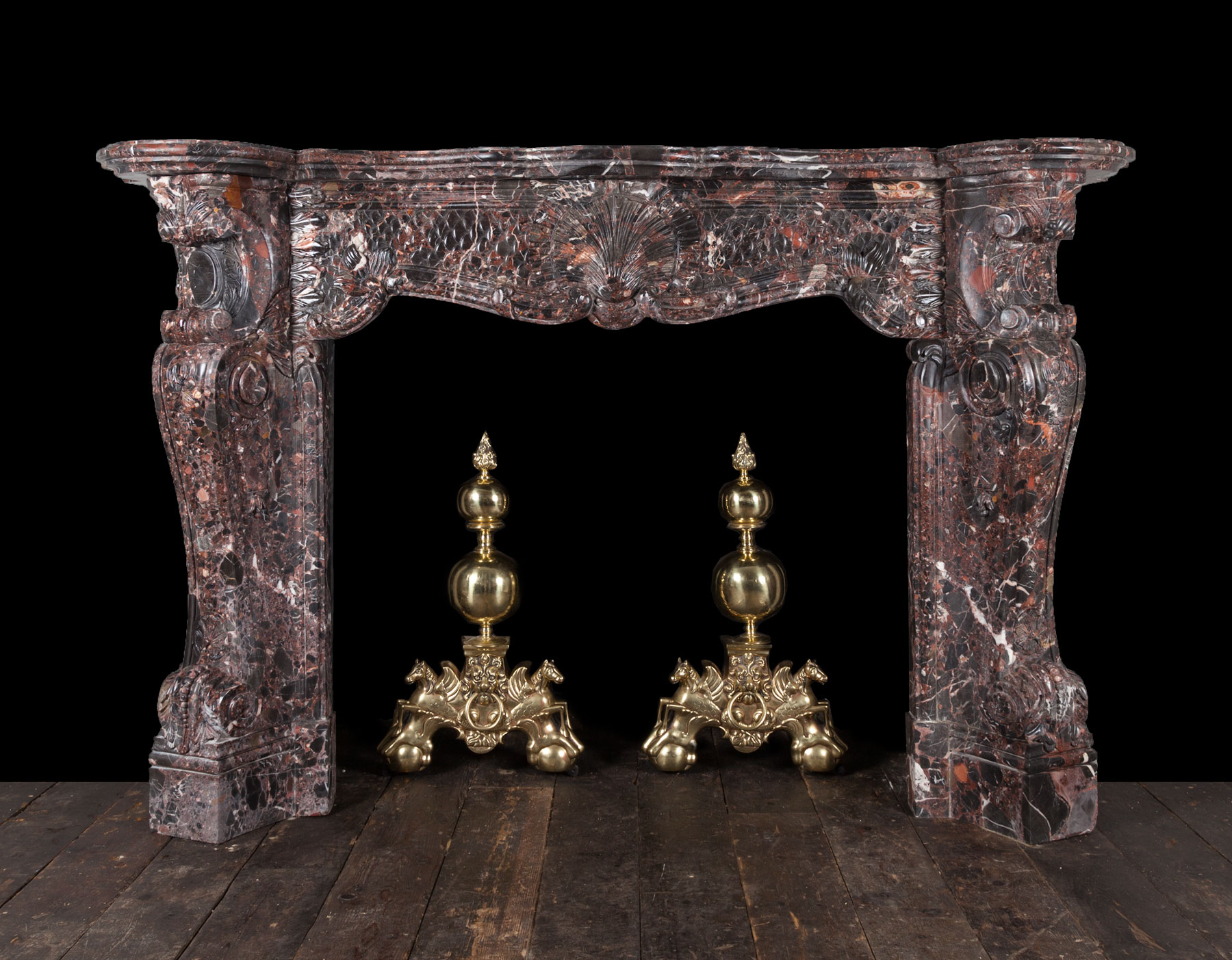 Marble fireplace – 19268