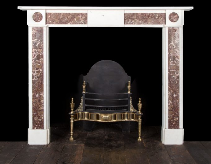 antique jasper fireplace
