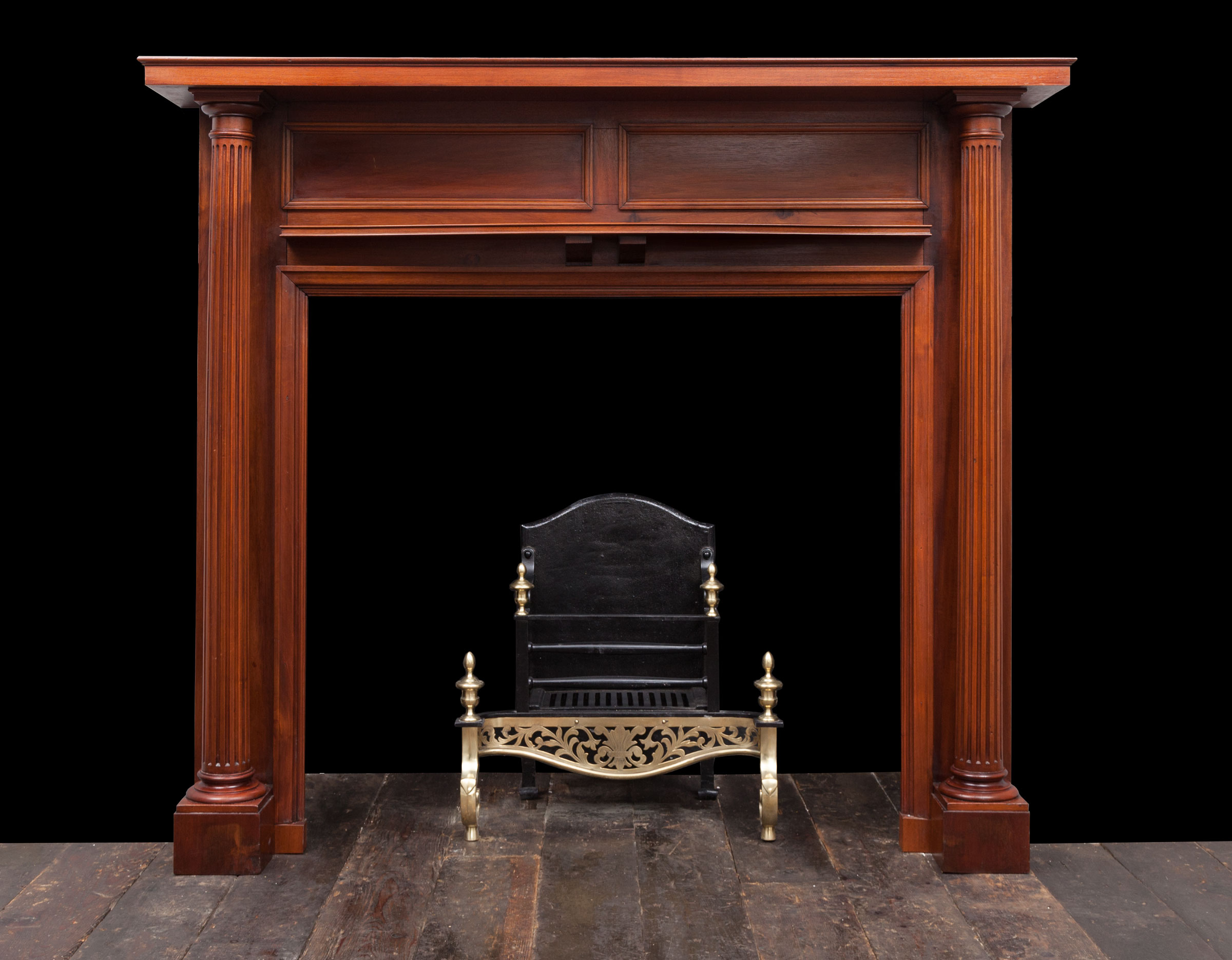 Antique Fireplace – W116