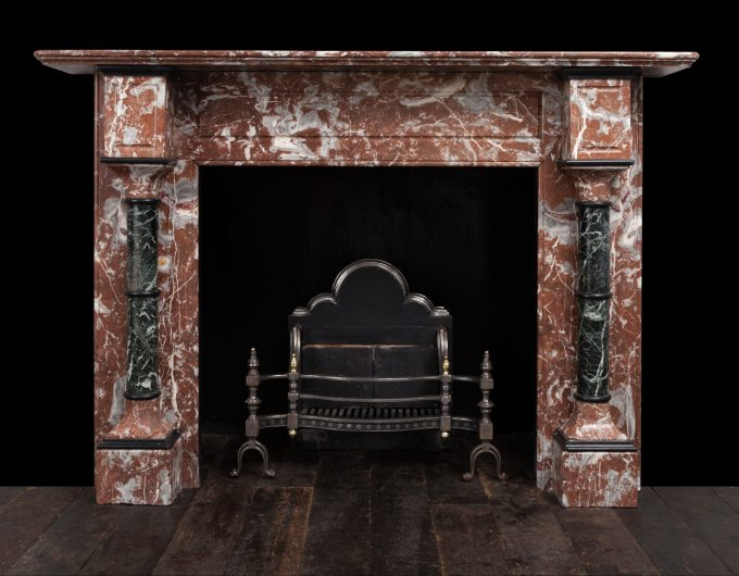 Edwardian marble fireplace