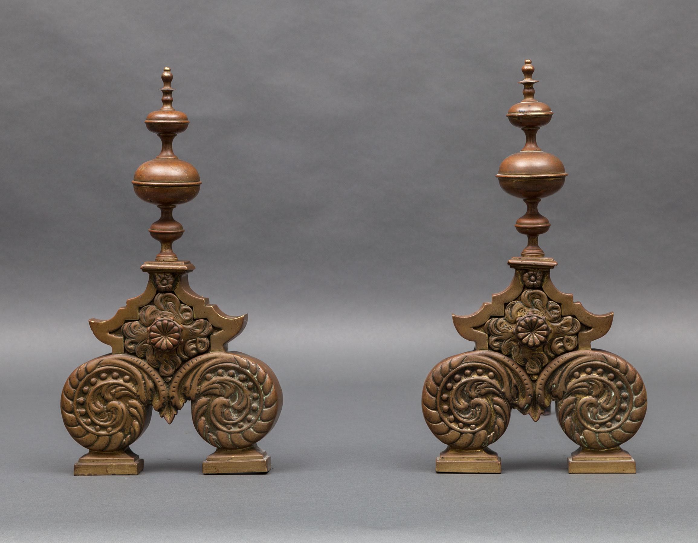 Antique Andirons – AI019