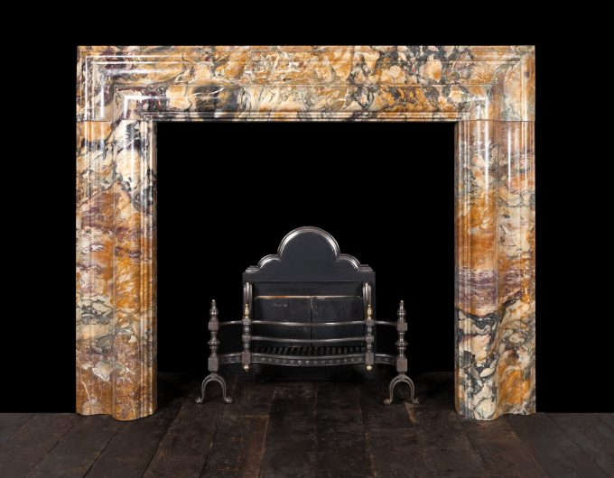 Breccia de Vendono bolection fireplace