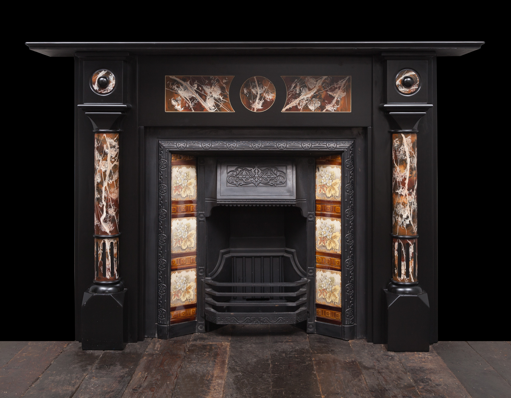 Slate Fireplace – SL034